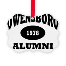 Owensboro 1978 Alumni black with  Ornament
