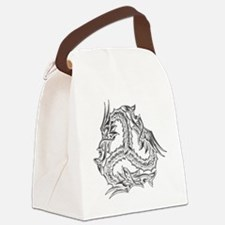 celtic_dragon_trans Canvas Lunch Bag