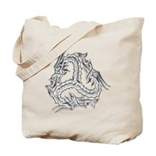 celtic_dragon_trans Tote Bag