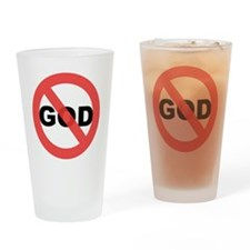 No God Drinking Glass