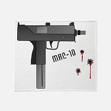 Mac-10 Throw Blanket