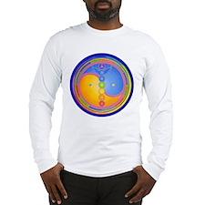 Sacred Centres + rainbow Lotus Long Sleeve T-Shirt
