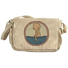 surfer-womb-T Messenger Bag