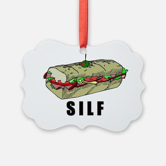 SILF_BLACK Ornament
