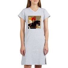 horse racing10x10 Women's Nightshirt