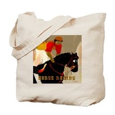 horse racing10x10 Tote Bag