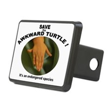 awkward turtle Hitch Cover