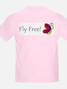 Winter Steel 'Butterfly' Kids T-Shirt