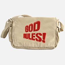 God Rules Messenger Bag