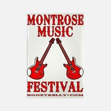 Montrose Music Festival Metafile  Rectangle Magnet