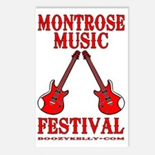 Montrose Music Festival M Postcards (Package of 8)