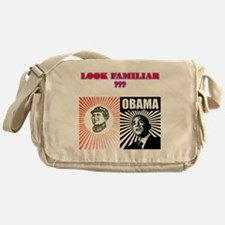 2-LOOK FAMILAR Messenger Bag