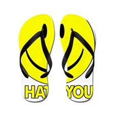 I_Hate_You Flip Flops