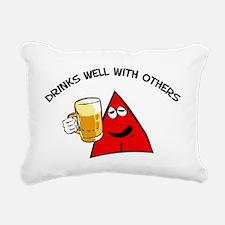 Fred Boozer Rectangular Canvas Pillow