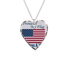 Proud Flag template 051010 Necklace