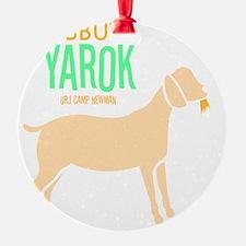 Kibbutz-Yarok_reverse Ornament