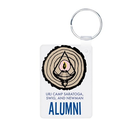 Alumni Aluminum Photo Keychain