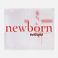 NEWBORN FOR BLACK copy Throw Blanket