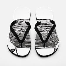 Alex STi - Bas Relief - Transparent - F Flip Flops
