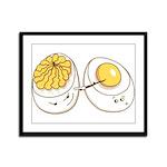 Deviled Eggs Framed Panel Print