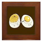 Deviled Eggs Framed Tile