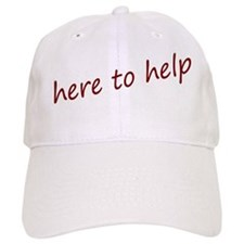 here to help Baseball Cap