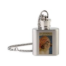 Dorothy Dalton 1921 Flask Necklace