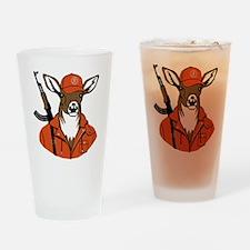 deer Drinking Glass