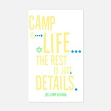 Camp-Is-Life_reverse Decal