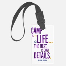 Camp-Is-Life Luggage Tag