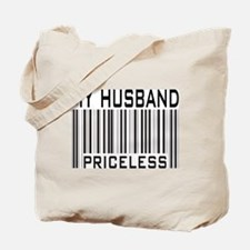 My Husband Priceless Barcode Tote Bag