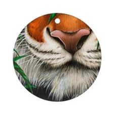 Tyger nose Round Ornament