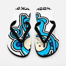 blue monkey icon Flip Flops