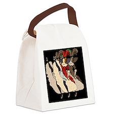OuiOuiOuiTile3 Canvas Lunch Bag