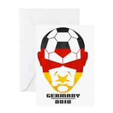 Soccer2010 -Germany 1cl Greeting Card
