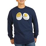 Deviled Eggs Long Sleeve Dark T-Shirt