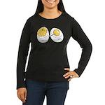 Deviled Eggs Women's Long Sleeve Dark T-Shirt
