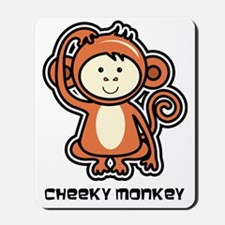 monkey icon Mousepad