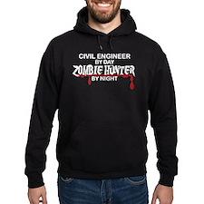 Zombie Hunter - Civil Engineer Hoodie