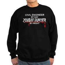 Zombie Hunter - Civil Engineer Sweatshirt