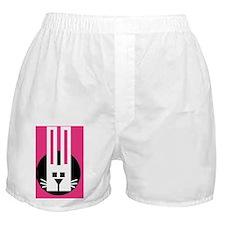 acid bunny logo Boxer Shorts