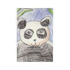 panda Rectangle Magnet