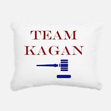 Team Kagan Rectangular Canvas Pillow