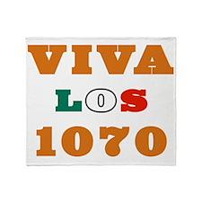 VivaLos1070-Dark1 Throw Blanket