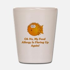 Oh No, My Food Allergy Shot Glass