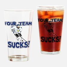 YourTeamSucks Drinking Glass