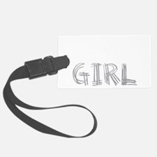wolf-girl-darks Luggage Tag