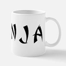 #NINJA TEXT 2000 BLACK Mug