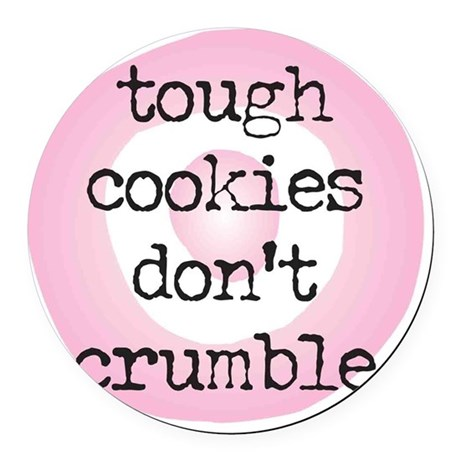 dont~crumble Round Car Magnet