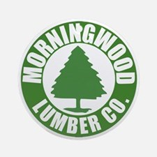 MorningWood Round Ornament